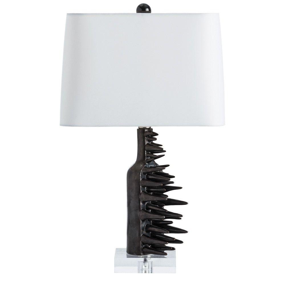 Arrowhead Chevron Geometric Table Lamp