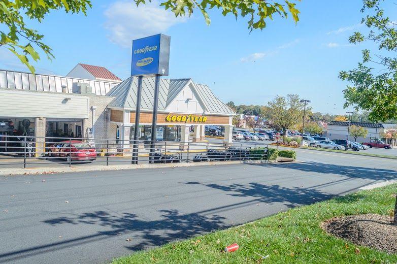 Exterior of Hogan & Sons Tire and Auto shop in Fairfax, VA