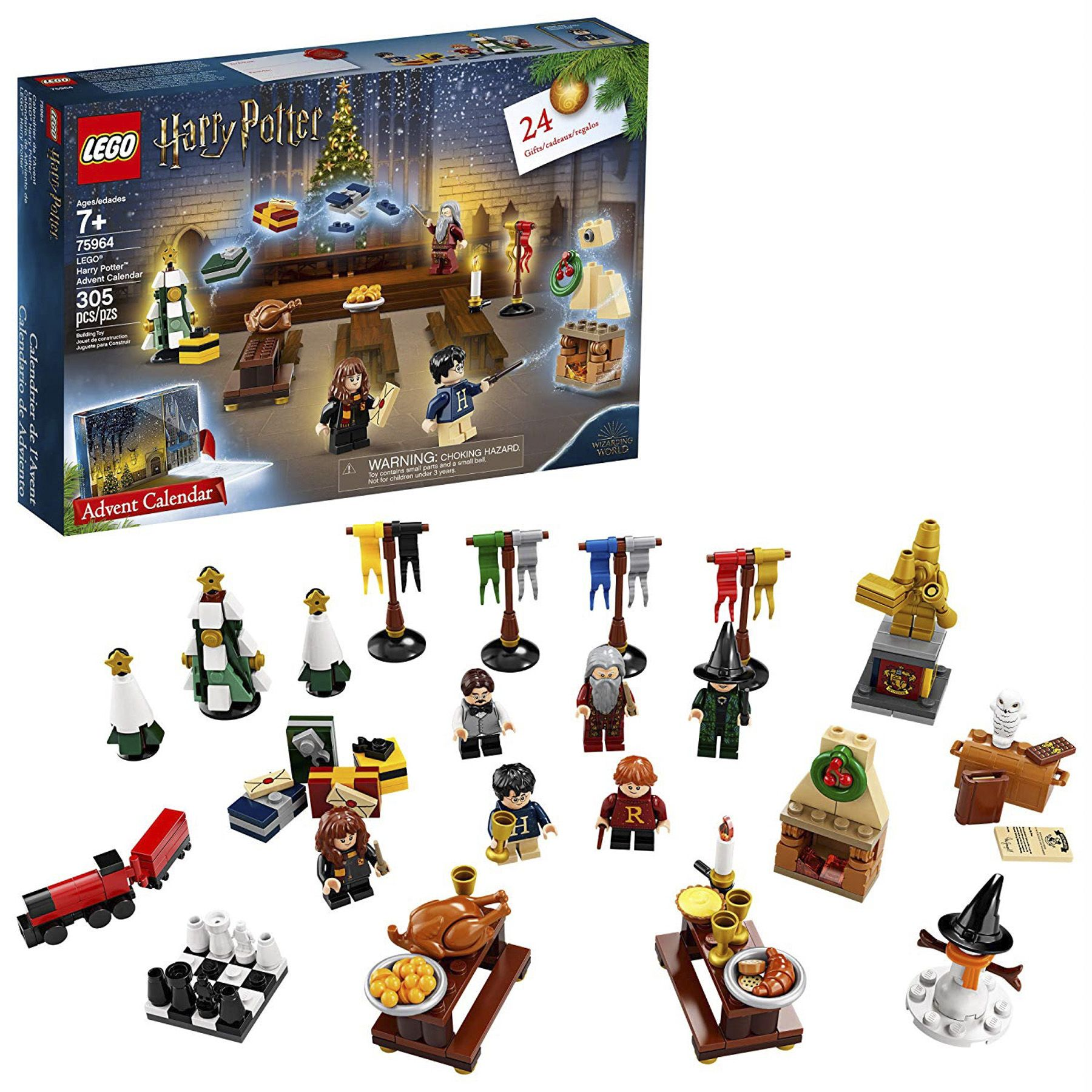 Lego S New Harry Potter And Star Wars Advent Calendars Are Finally Here With Over 200 Pieces Each Harry Potter Advent Calendar Lego Harry Potter Lego Advent Calendar