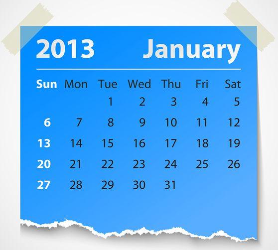 content calendar 2013 558 2013 Social Media Content Calendar