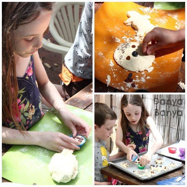 Two ingredient bread dough and sensory play!
