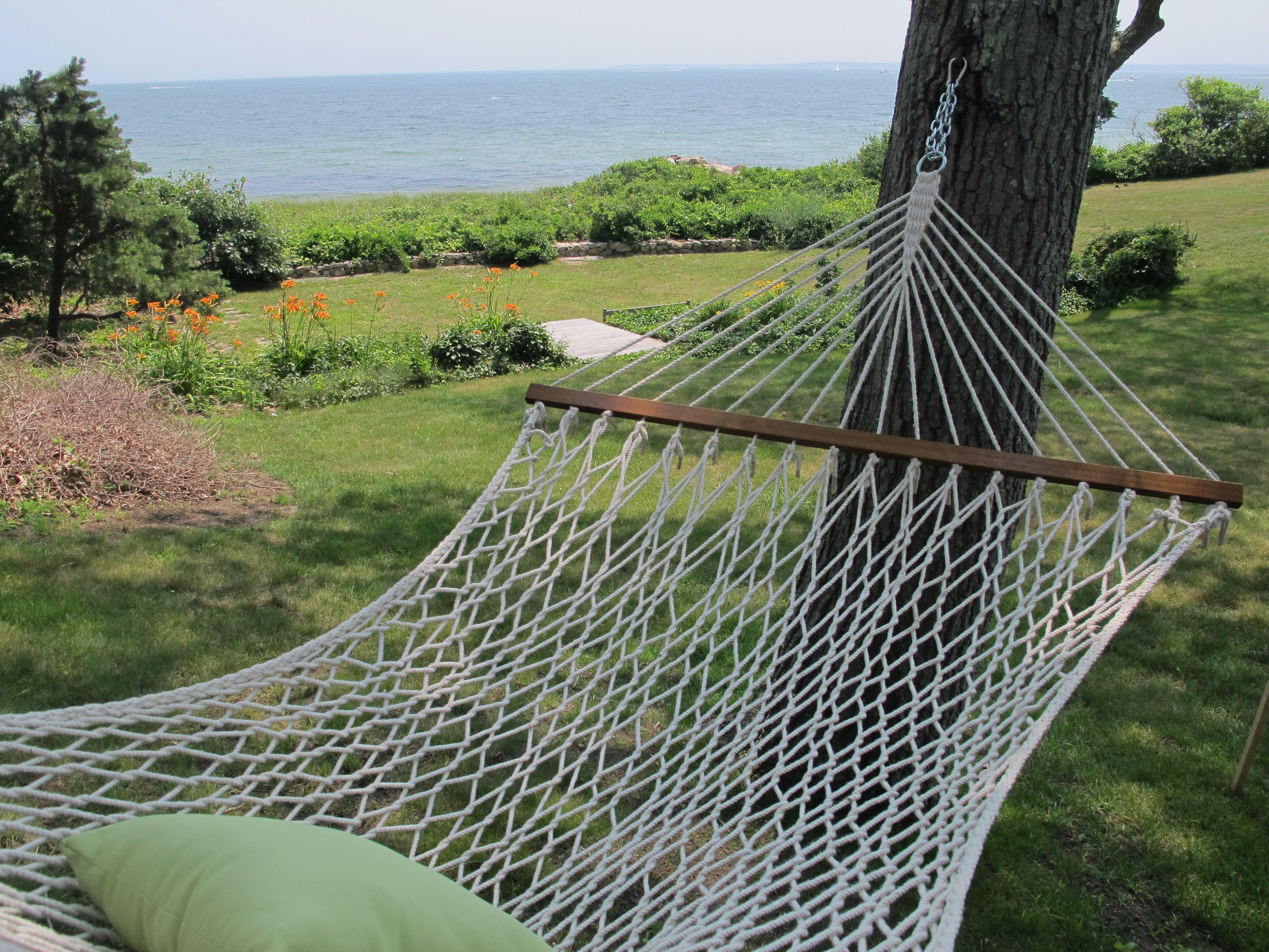 Staging and photography for oceanfront rental cottage on