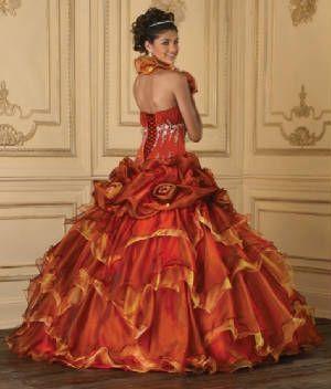 78 Best images about Orange wedding dress/ Theme on Pinterest ...