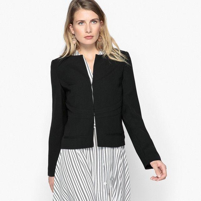 53f67549ac7fa Fitted Short Blazer   Wardrobe   Tailored jacket, Blazer, Blazer, shorts
