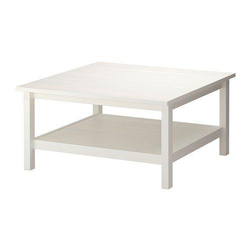 HEMNES Coffee Table, White Stain White