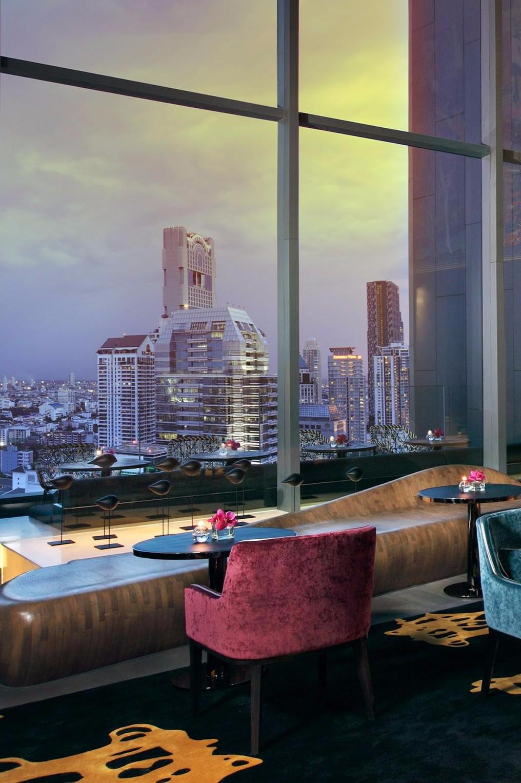 Das wohnzimmer bangkok thailand der park christian lacroix asien snacks lounges schöne leute