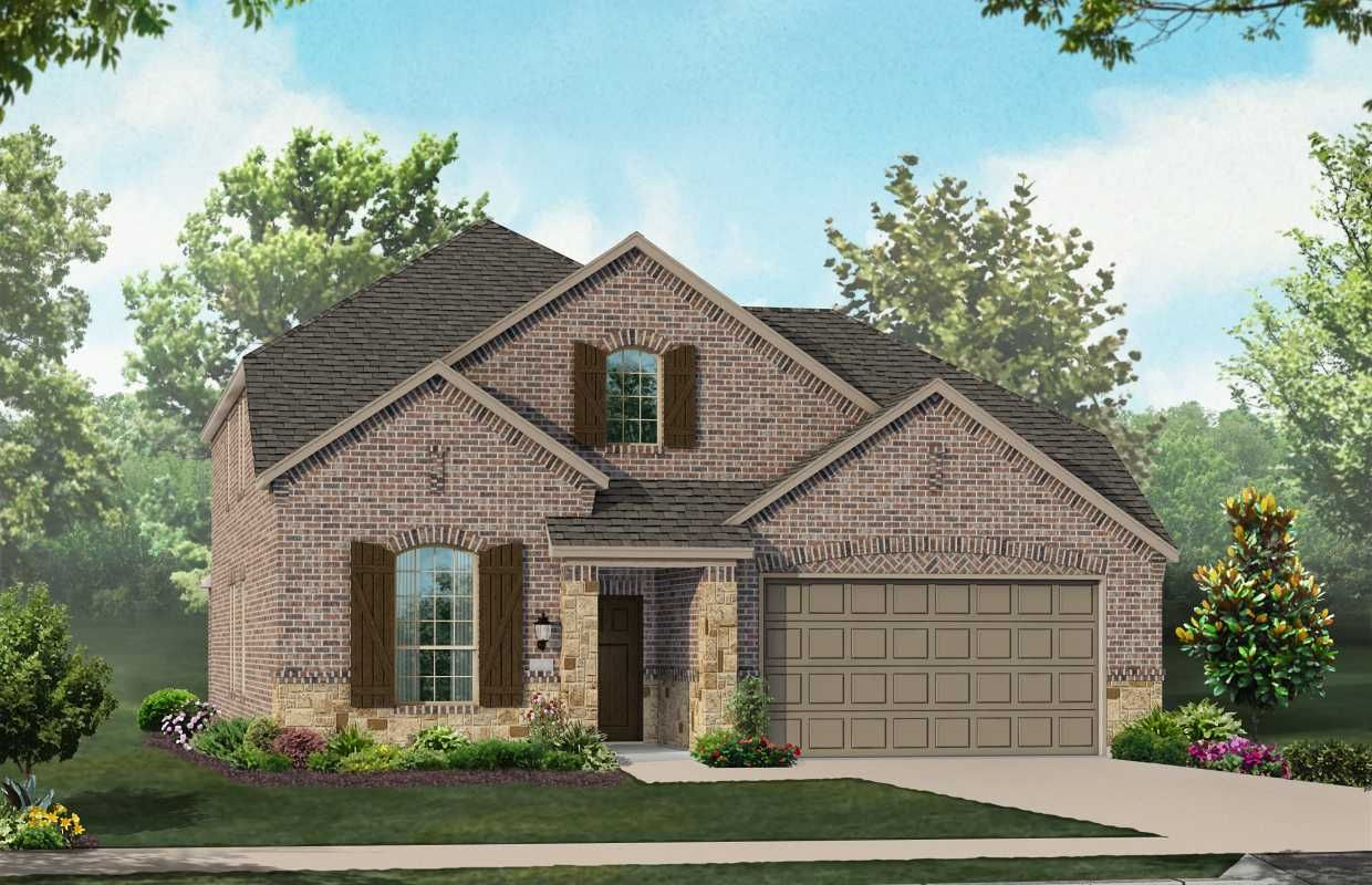 New Home Plan Wakefield in Forney TX