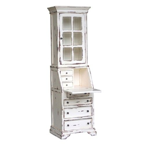 Bramble Hancock Narrow Secretary In Multi Color 24678 Secretary Desks Furniture Shop Wholesale Furniture