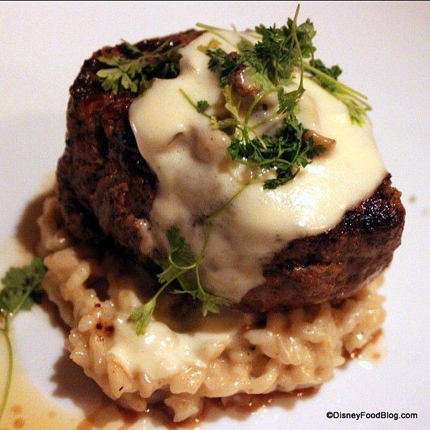 Impeccable Mushroom Filet at Le Cellier #epcot #disneyworld #disney #disneyfood Web Instagram User » Followgram