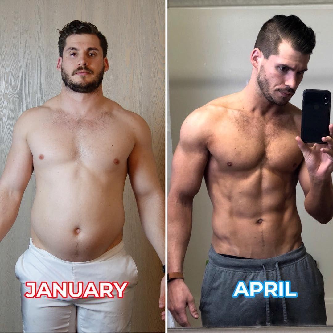 Man S Incredible 12 Week Body Transformation Anatomy