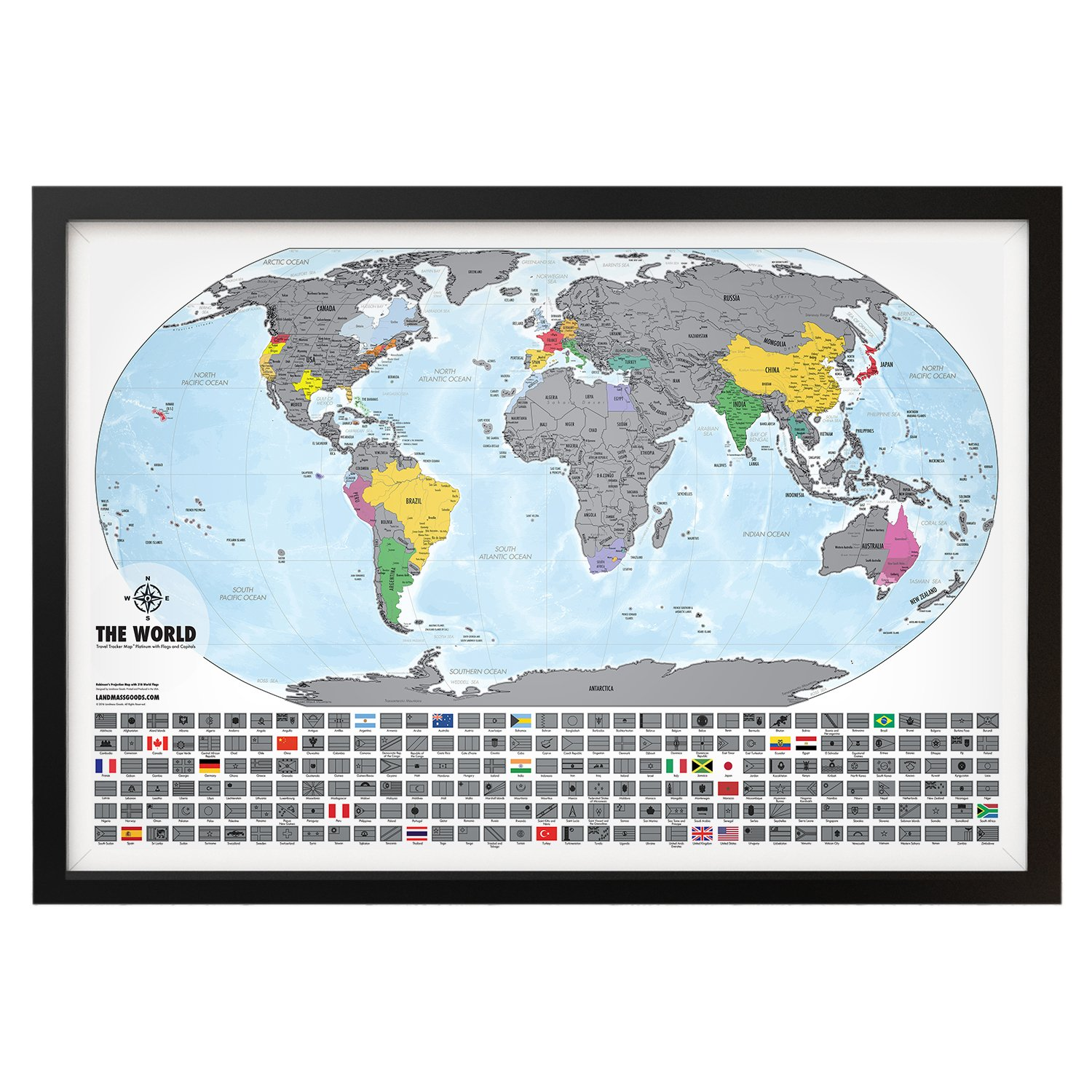 Travel tracker map platinum xl special edition map scratch off travel tracker map platinum xl special edition map scratch off where you gumiabroncs Images