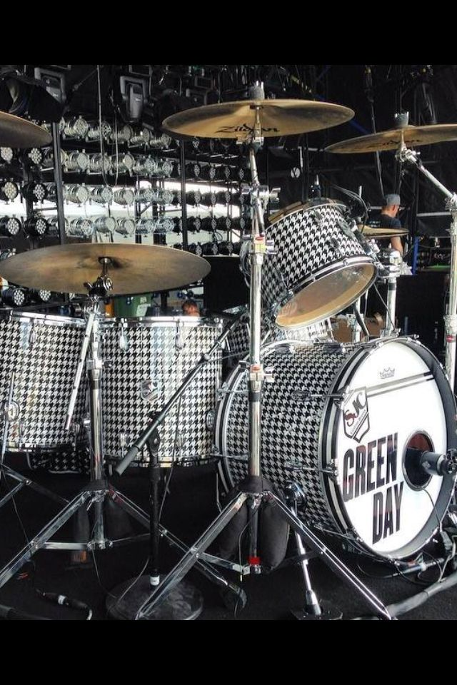 Green Day New Kit Drums Pinterest Drums Drum Kits And Green Day