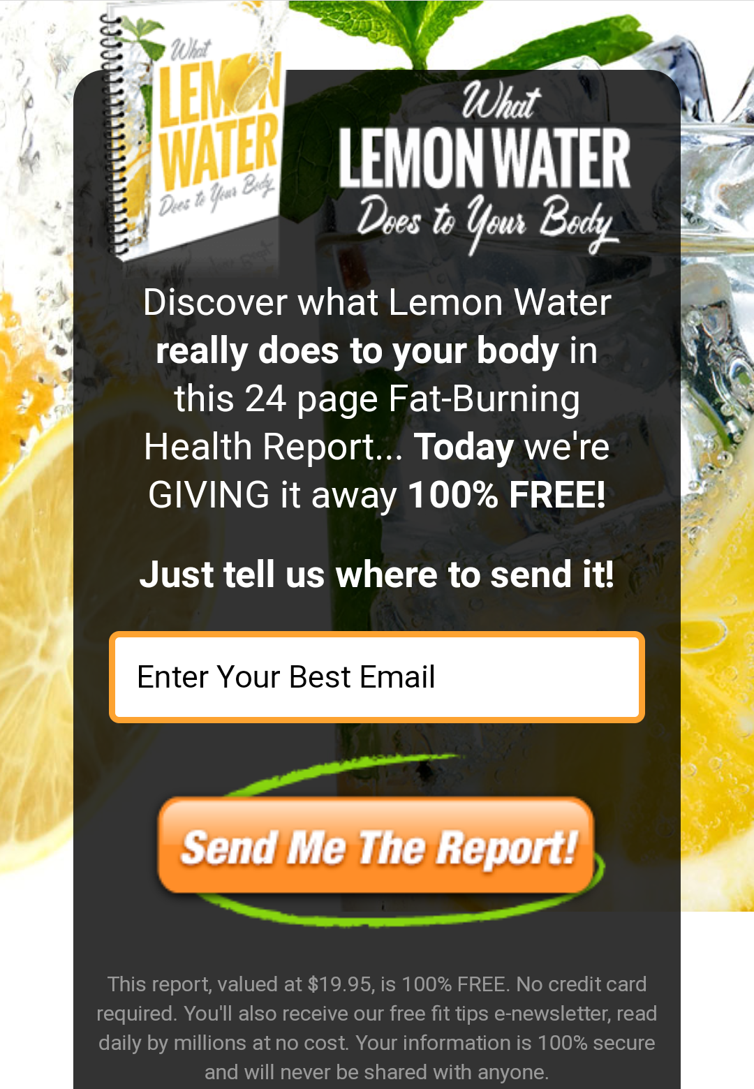 WhatLemonWaterDoesToYourBoby New FreeBook at