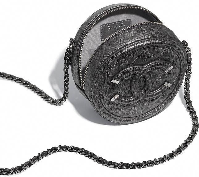 6505d6b9aa81 To Die For! Chanel Round CC Filigree Chain Clutch, details here... # Chanelhandbags