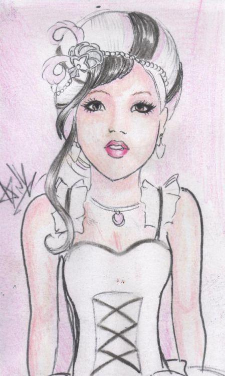 duchess swang by anystart amano bailarina chica colorido cool