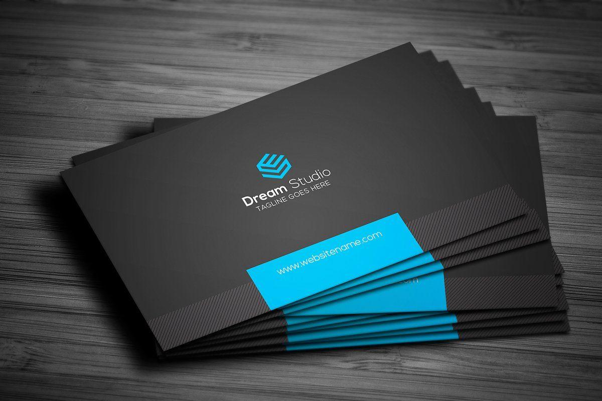 Creative Modern Business Card Modern Business Cards Business Cards Creative Business Card Template