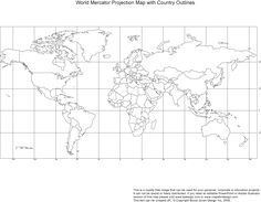 Doing a global presentation use this free printable blank world map use this free printable blank world map outlined for you to gumiabroncs Choice Image