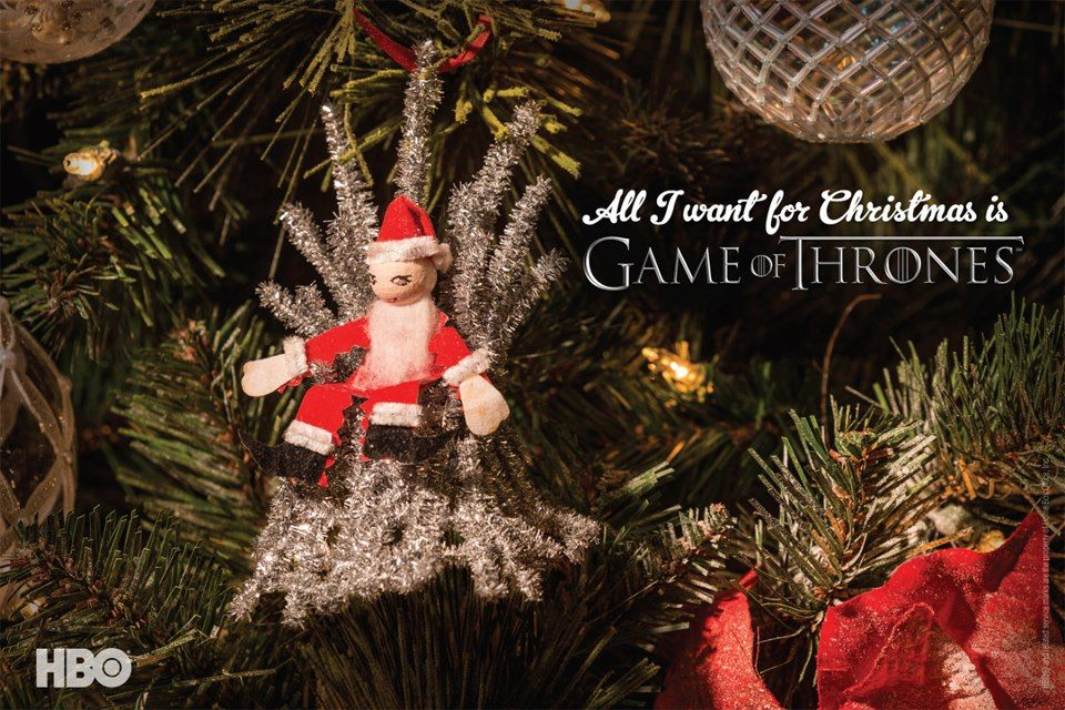All I Want For Christmas Is Game Of Thrones Game Of Thrones Christmas Christmas Magic Holiday