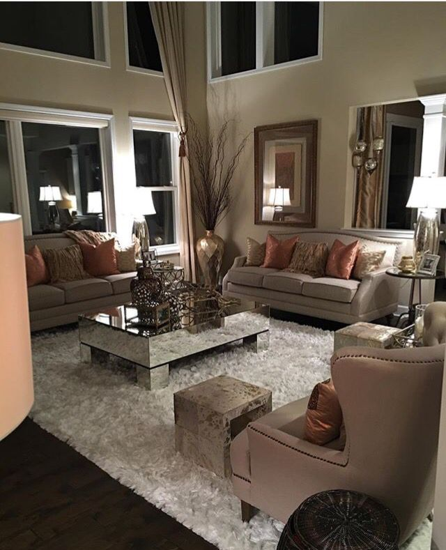 Tan And Burnt Orange Living Room H0me Idea Living
