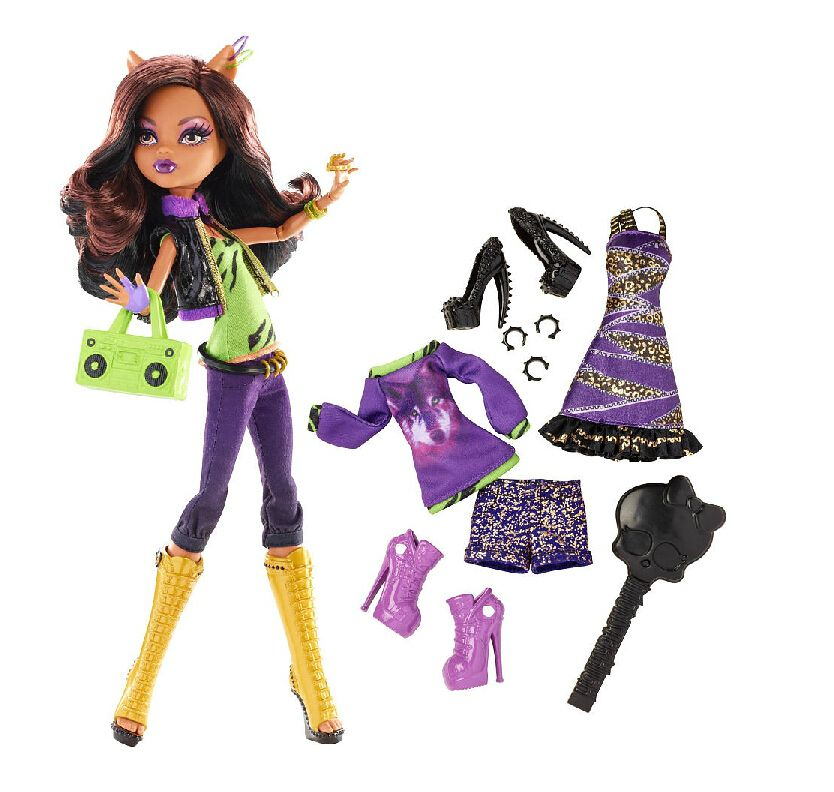 Clawdeen Wolf 3 Gore-geous Outfits