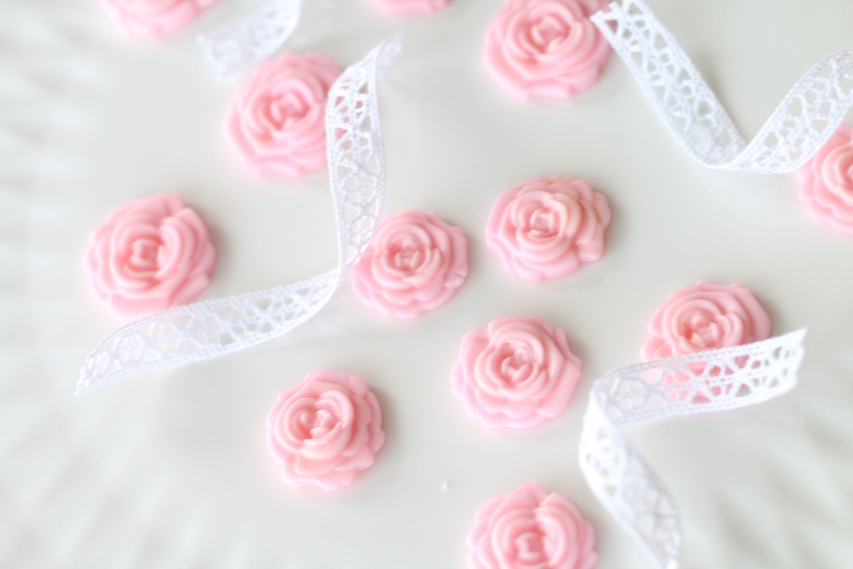 Pink Fondant Roses Fondant Flowers Little Girl Cake Girl Baby