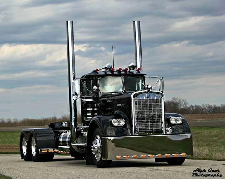 Old Kenworth With Images Custom Big Rigs Trucks Big Trucks