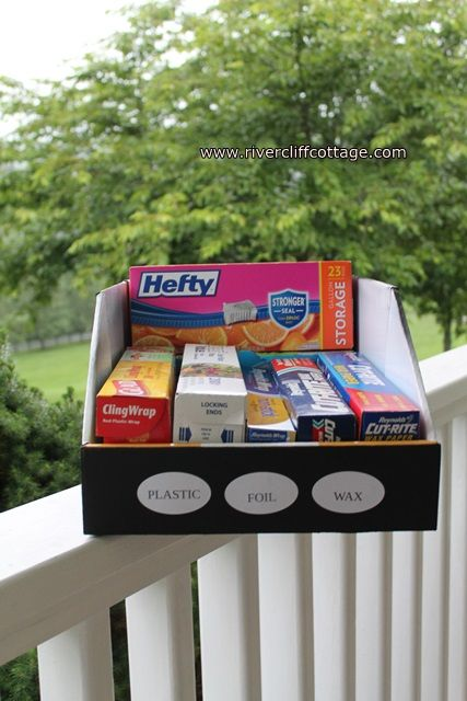 Pantry Organization Using Sam's Club Boxes :: Hometalk