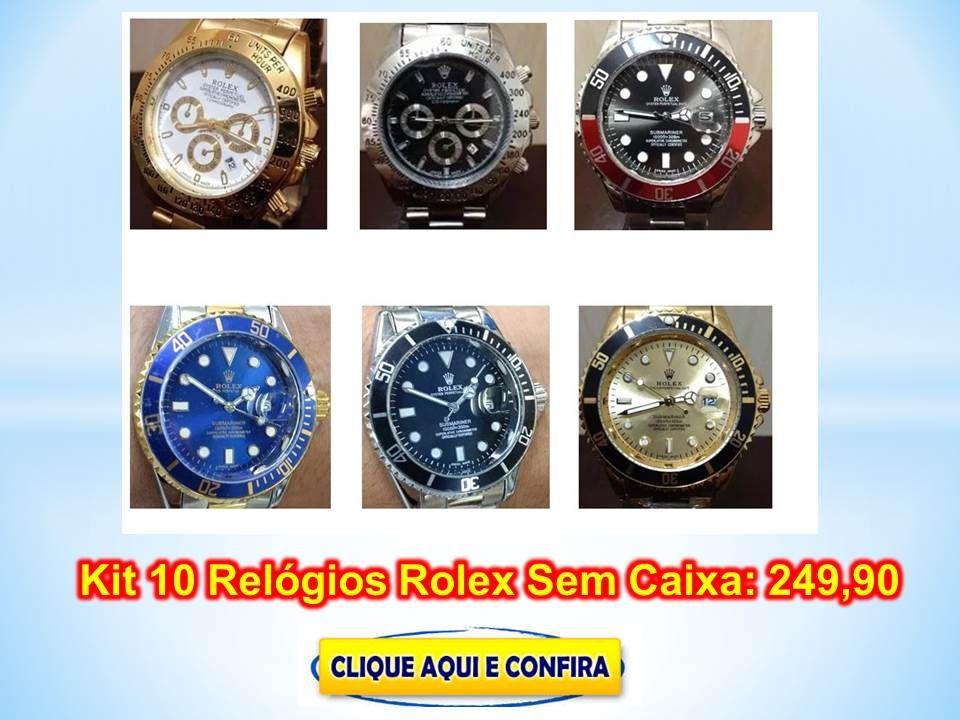 2220410ac1a Venha Comprar Relógios Rolex baratos com preço de atacado para revenda  direto da 25 de Março