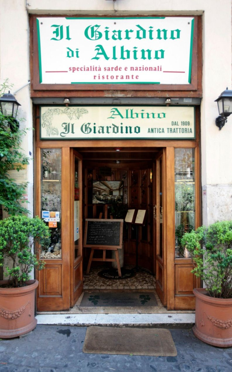 Il Giardino Di Albino The Best Restaurant In Rome Best Restaurants In Rome Italy Travel Italian Restaurant