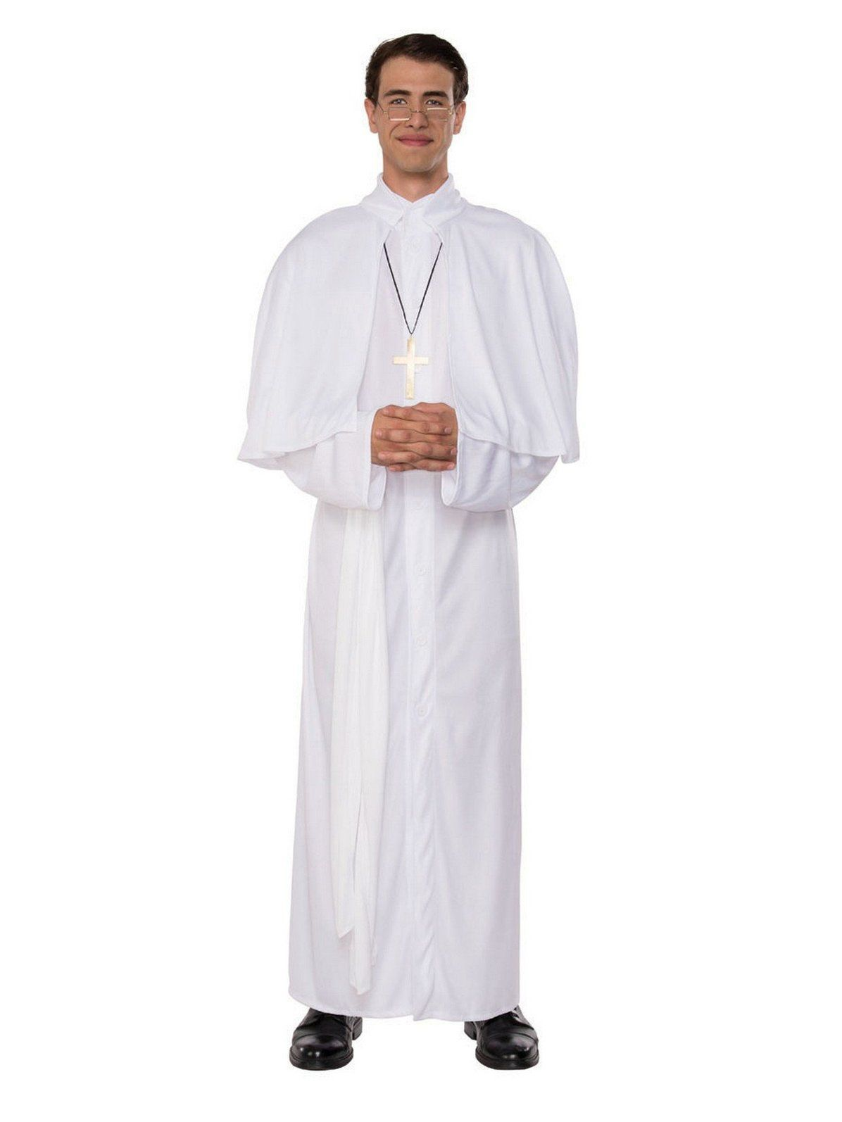 ADULT PRIEST OR NUN COSTUME RELIGIOUS CLERGY NOVELTY FANCY DRESS LADIES MENS