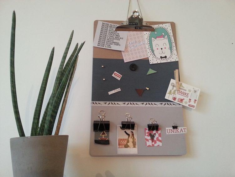 Memoboard Kinderzimmer ~ Diy anleitung: magnetisches memoboard basteln via dawanda.com