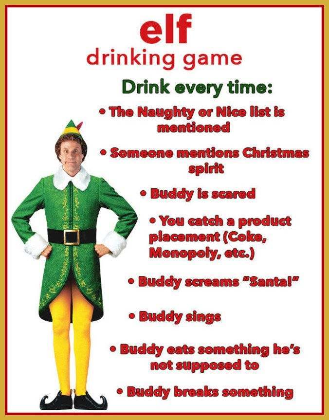 Awesome Christmas Drinking Party Ideas Part - 3: 10 Christmas Movie Drinking Games Youu0027ll Want To Play This Year