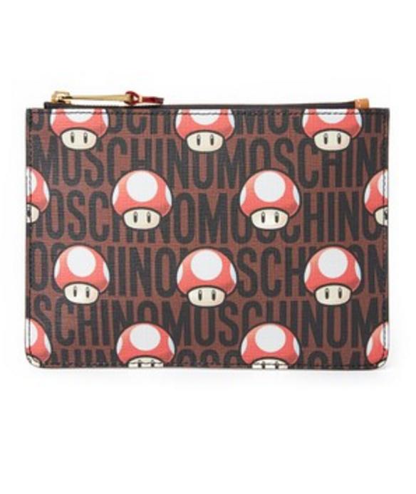 mushroom zip pouch