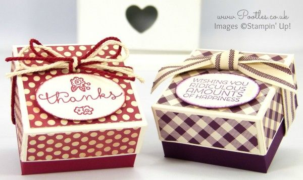 Stampin' Up! Farmer's Market Lidded Box Tutorial