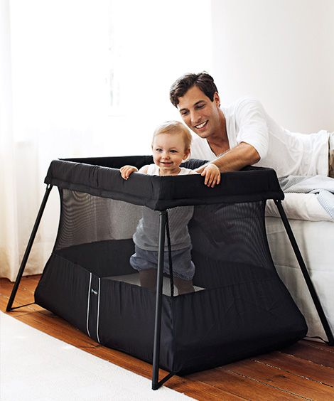 Handy Travel Crib In A Classic Design Babybjorn In 2020 Baby Bjorn Travel Crib Travel Crib Baby Bjorn