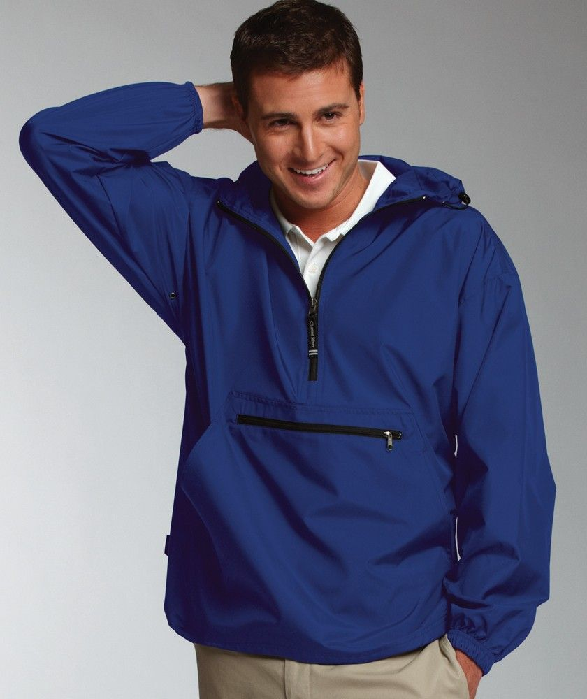Charles River Apparel - Pack n' Go Pullover. Great for these days ...