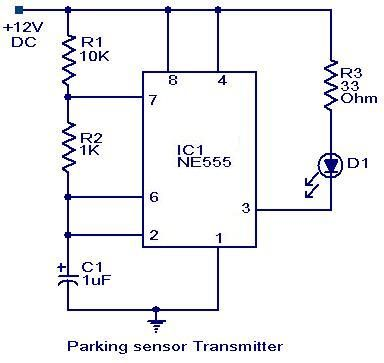 Parking sensor circuit – Electronic Circuits and Diagram-Electronics ...