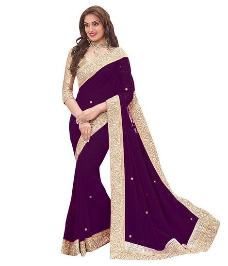 9172d65e37 Designer Fancy New Look Attractive Saree - Leeps Prints Sarees for indian  woman