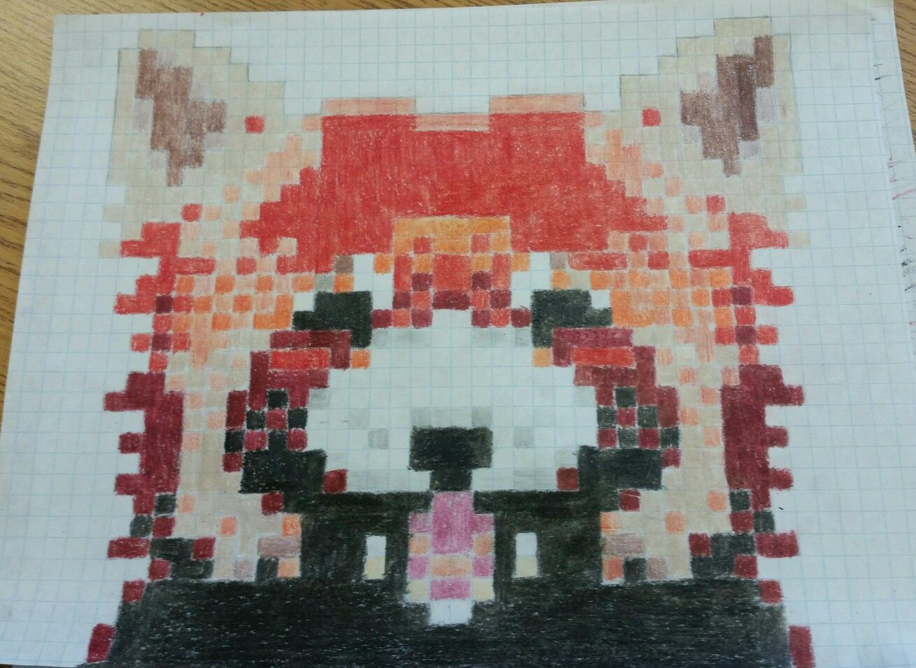 Red Panda Pixel Art Pixel Art Art Red Panda