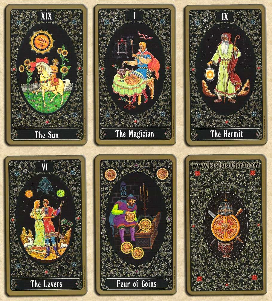 Russian Tarot of St. Petersburg. An unusual fact about ...