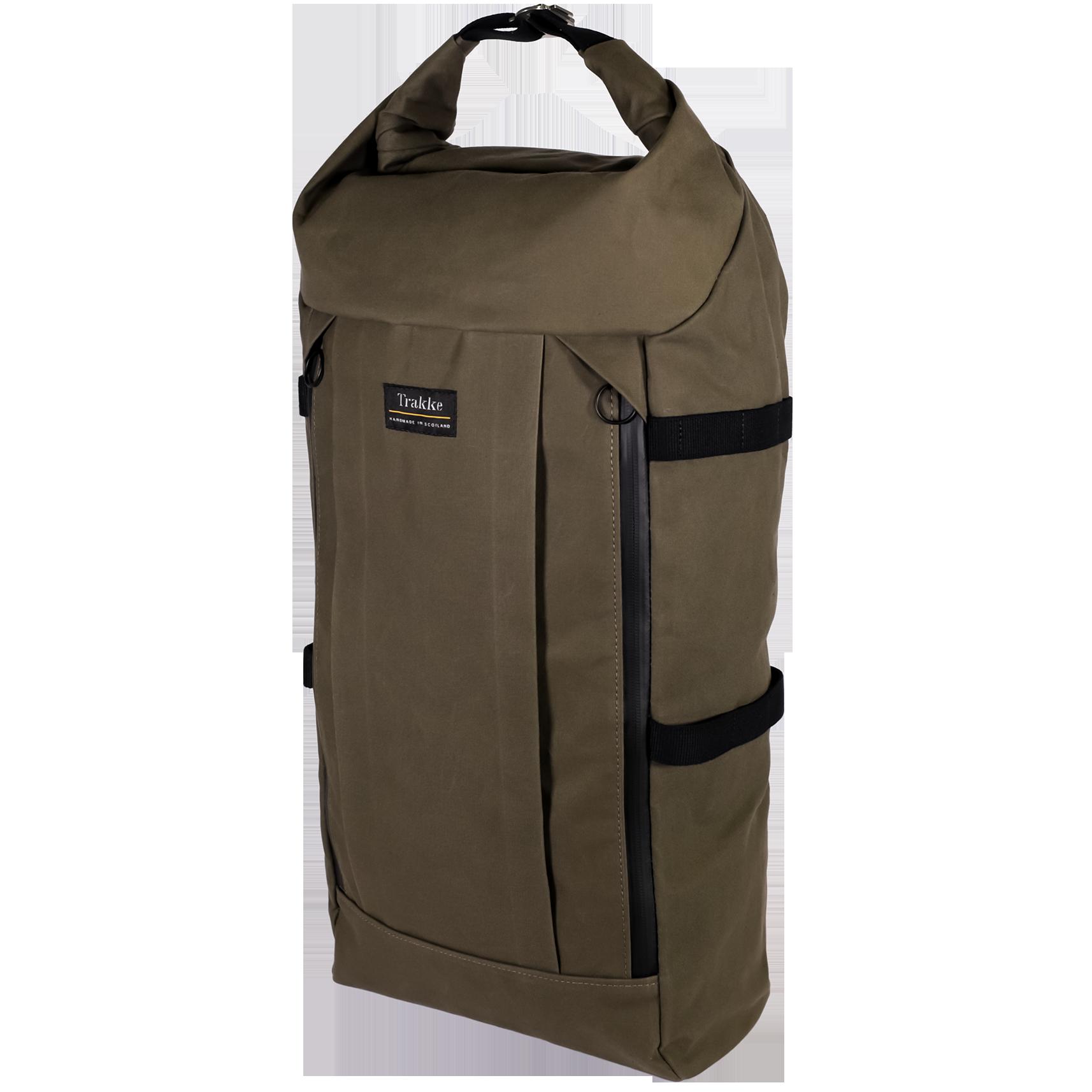 Vorlich Backpack Backpacks Waxed Canvas Backpack Rolltop Backpack