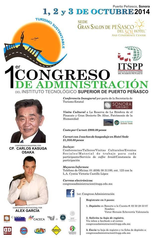 ITSPP realizará su 1er Congreso de Administración a principios de octubre. Entérate de los detalles.