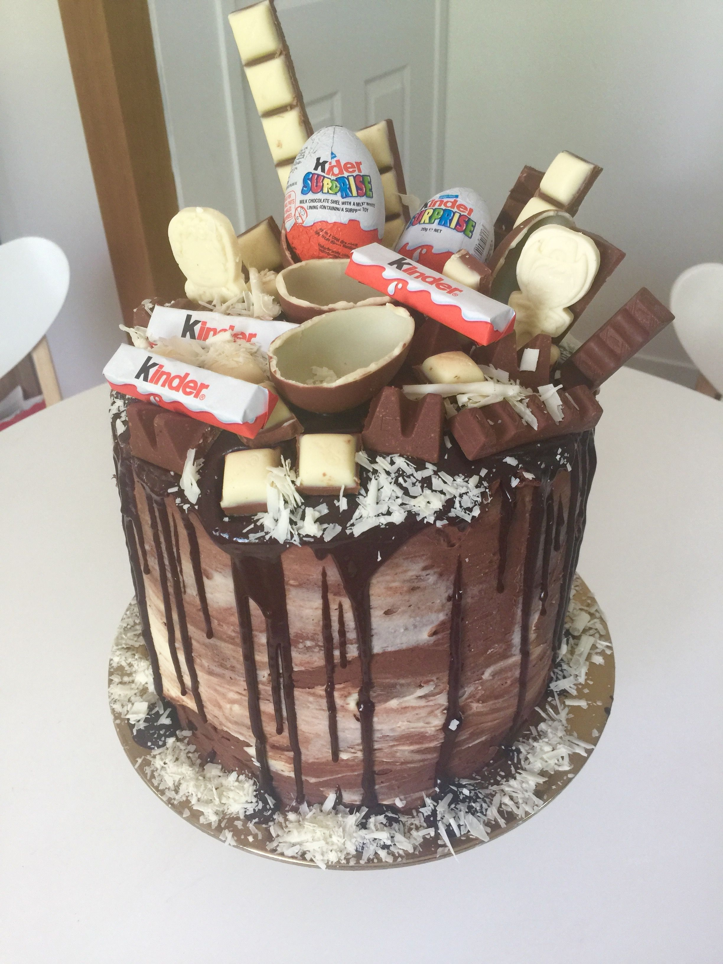My Gluten Free Kinder Surprise Cake For My Son S 5th Birthday