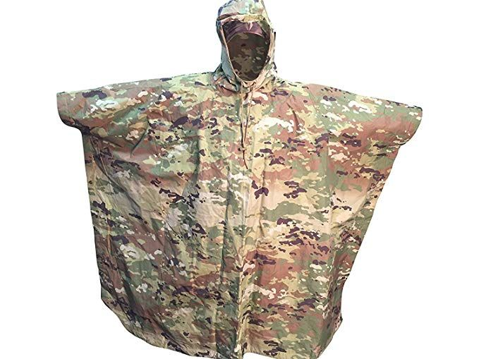 Acme Approved Waterproof Poncho Military Style OCP