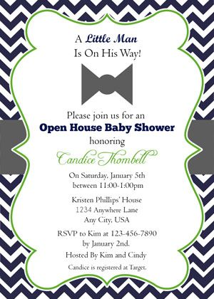 Little Man Baby Shower Invitaciones Fotos Frases Bebe