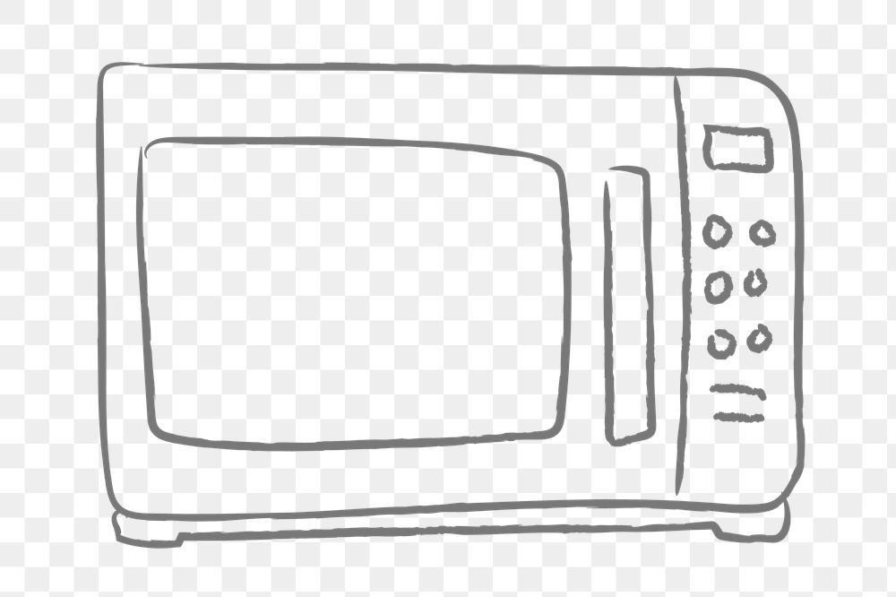 Doodle Kitchen Microwave Design Element Free Image By Rawpixel Com Nunny Microwave In Kitchen Design Element Doodles