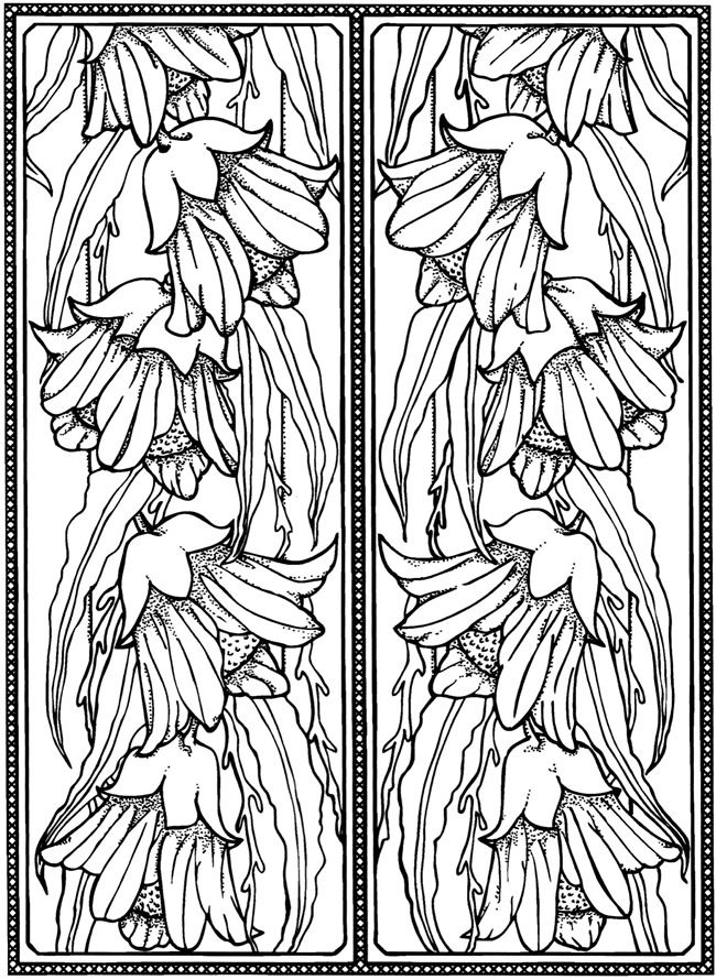 Creative Haven Art Deco Designs Coloring Book Dover Publications Samples Painted In Bright Colors On Either Side Of A Doorway Might Be Neat Infusion