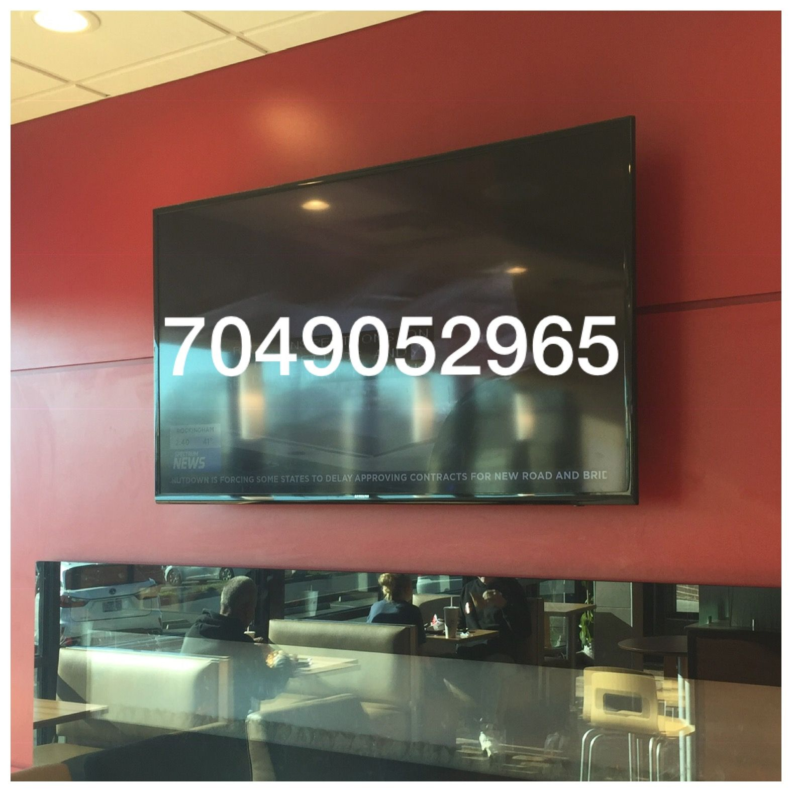 Pin on Commercial TV Installation Service https//www