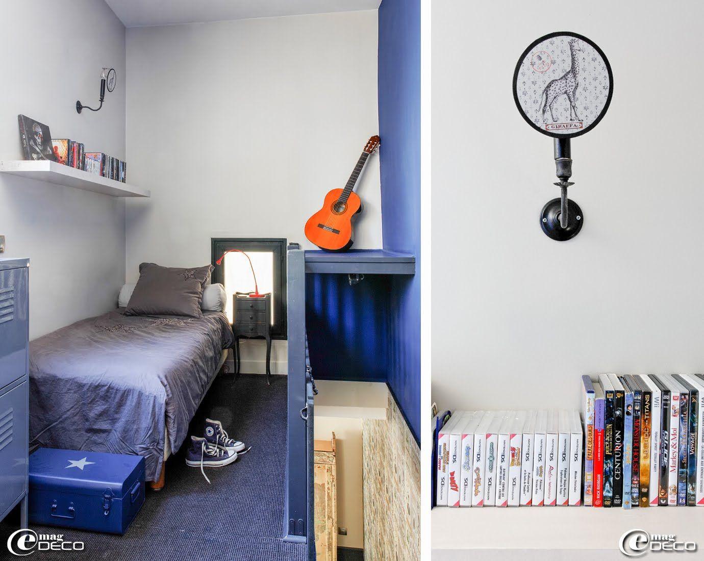 Un loft parisien lové autour d'une cour ~ e-magDECO : Magazine de décoration