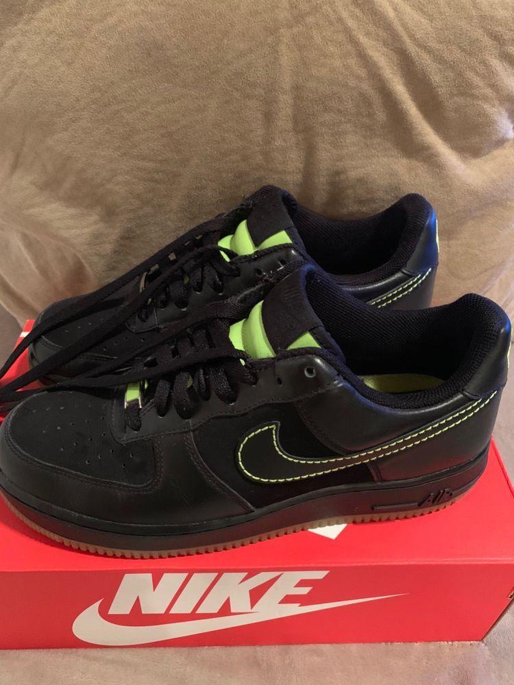 Rare Nike Air Force 1 '82 Black Neon